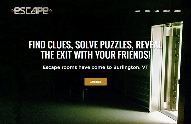 Esc4pe Escape Room Website